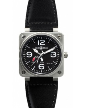 Replica Bell & Ross BR01-97 Power Reserve 46mm BR01-97 Steel Black Mens Watch