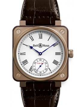 Popular Replica Bell & Ross Aviation BR01 Instrument De Marine Mens Watch BR01-CM-203