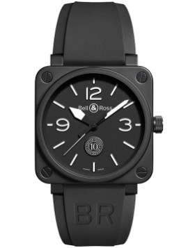 Replica Bell & Ross BR01-92 Automatic 46mm BR0192-10TH-CE Mens Watch