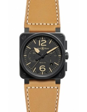 Bell & Ross BR03-94 Chronograph 42mm BR03-94 Heritage Mens Watch Replica