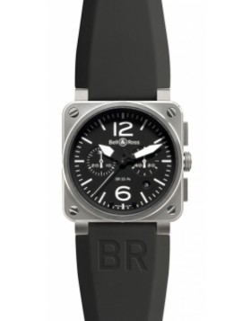 Bell & Ross BR03-94 Chronograph 42mm BR03-94 Steel Midsize Watch Replica