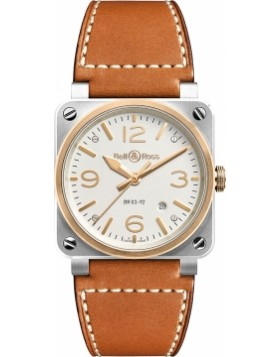 Bell & Ross BR03-92 Automatic 42mm BR0392-ST-PGSCA Mens Watch Replica