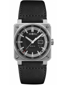 Bell & Ross BR03-96 Grande Date 42mm BR0396-SI-ST Midsize Watch Replica