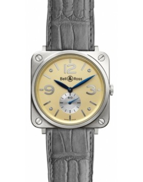 Bell & Ross BR-S Mechanical Gold 39mm BRS White Gold Midsize Watch Replica