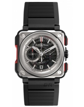 Bell & Ross BR-X1 Chronograph 45mm BRX1-CE-TI-RED Midsize Watch Replica
