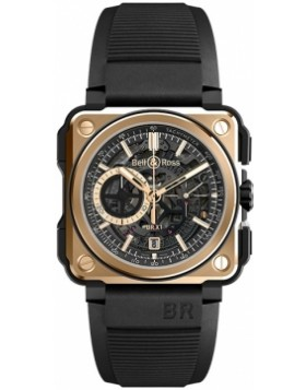 Bell & Ross BR-X1 Chronograph 45mm BRX1-CE-PG Mens Watch Replica