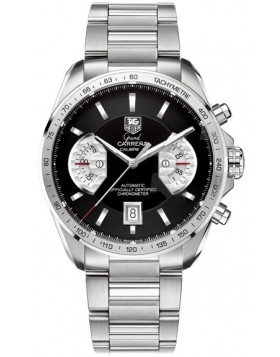 Replica TAG Heuer Grand Carrera Calibre 17 RS Automatic Steel Black Dial Mens Watch