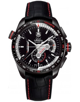 Replica TAG Heuer Grand Carrera Chronograph Calibre 36 RS Titanium Mens Watch