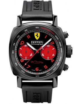 Replica Panerai Ferrari Chronograph 45mm DLC Mens Watch