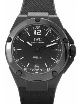 Replica IWC Ingenieur Automatic AMG Black Ceramic Black Dial Mens Watch