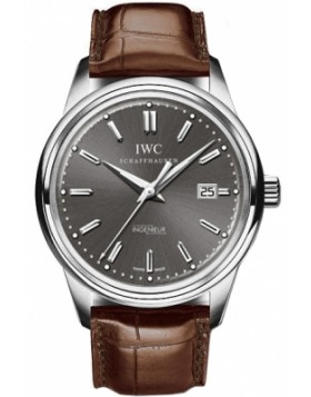 Replica IWC Vintage Ingenieur Automatic White Gold Mens Watch
