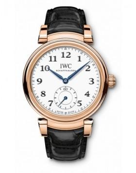 Fake IWC Da Vinci Automatic Edition 150 Years Red Gold IW358103