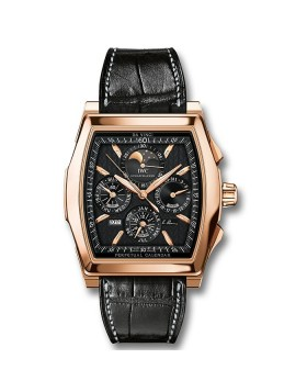 Replica IWC Da Vinci Perpetual Calendar Kurt Klaus Rose Gold Mens Watch