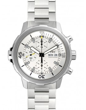 Replica IWC Aquatimer Silver Dial Stainless Steel Mens Watch