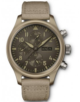 Fake IWC Pilot's Perpetual Calendar Chronograph Edition Le Petit Prince Watch IW389103