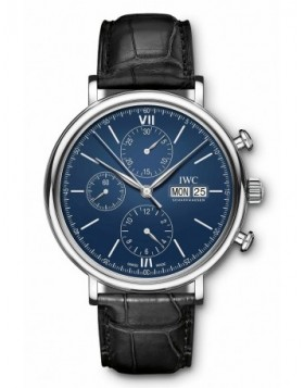 Fake IWC Portofino Chronograph Edition 150 Years IW391023