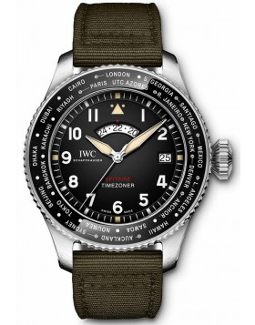 Fake IWC Pilot's Timezoner Spitfire Edition The Longest Flight IW395501