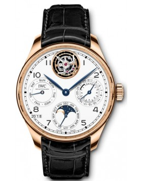 Fake IWC Portugieser Perpetual Calendar Tourbillon Edition 150 Years IW504501