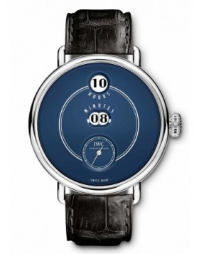 Fake IWC Pallweber Tribute to Pallweber Edition 150 Years Blue Dial IW505003