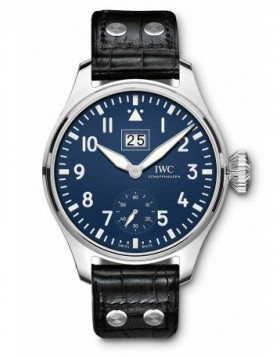 Fake IWC Big Pilot's Big Date Edition 150 Years Blue Dial IW510503