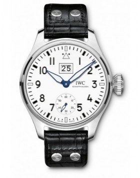 Fake IWC Big Pilot's Big Date Edition 150 Years White Dial IW510504