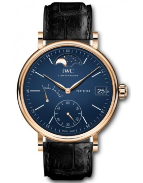 Fake IWC Portofino Hand-Wound Eight Days Moonphase 150 Years IW516407