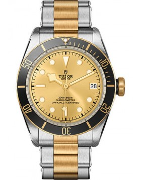 Tudor Heritage Black Bay Steel and Gold Replica