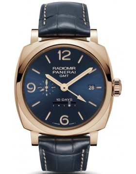 Popular Replica Panerai Radiomir 1940 10 Days GMT Automatic Oro Rosso 45mm PAM00659