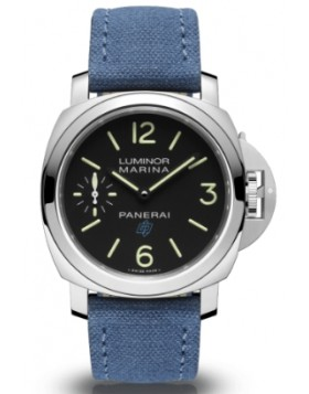 Fake Panerai Luminor Logo Marina 3 Days Acciaio 44mm PAM00777