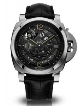 Fake Panerai Luminor 1950 L'Astronomo Tourbillon Moon Phases Equation of Time GMT PAM00920
