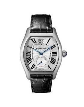 Replica Cartier Tortue Extra-Large White Gold Mens Watch