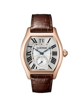 Replica Cartier Tortue Large Date Small Seconds Mens watch
