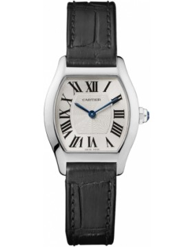 Replica Cartier Tortue Small Manual White Gold Ladies Watch