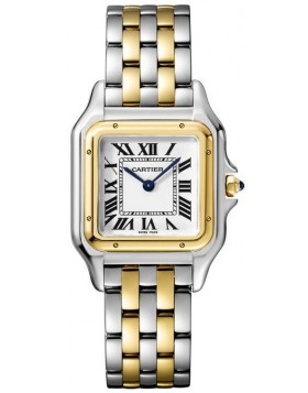 Popular Replica Cartier Panthere de Cartier Medium Ladies Watch W2PN0007