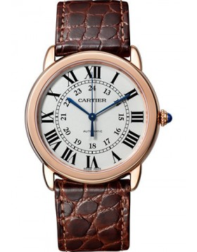 Popular Replica Cartier Ronde Solo Automatic 36mm Silver Dial Ladies Watch W2RN0008