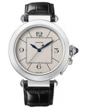 Replica Cartier Pasha Automatic Silver Dial Mens Watch