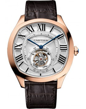 Popular Replica Cartier Drive de Cartier Flying Tourbillon W4100013