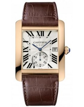 Replica Cartier Tank MC Rose Gold Automatic Mens Watch