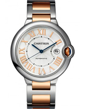 Fake Cartier Ballon Bleu de Cartier 42 mm Pink Gold W6920095