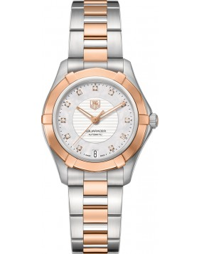 Fake TAG Heuer Aquaracer Automatic 34mm Ladies Watch WAP2351.BD0838