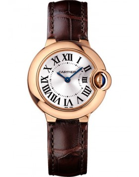 Popular Replica Cartier Ballon Bleu 28mm Watch Pink Gold Ladies Watch WGBB0007