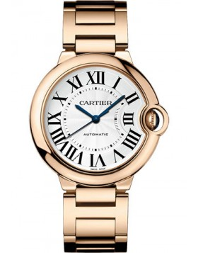Popular Replica Cartier Ballon Bleu de Cartier 36 mm Silver Dial Ladies Watch WGBB0008