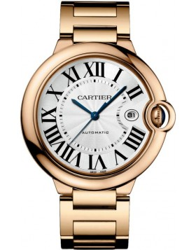 Replica Cartier Ballon Blue de Cartier 42 Automatic Pink Gold Watch