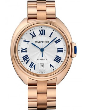 Replica Cartier Cle de Cartier 40mm Pink Gold Ladies Watch