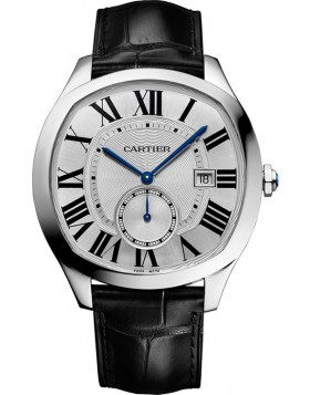 Replica Cartier Drive de Cartier White Dial Mens Watch
