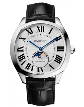 Popular Replica Cartier Drive de Cartier Moon Phases WSNM0008