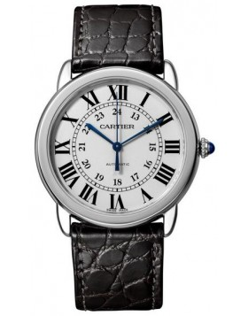 Popular Replica Cartier Ronde Solo Automatic 36mm Silvered Opaline Dial Ladies Watch WSRN0013