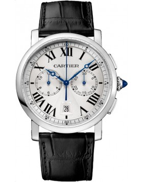 Fake Cartier Rotonde de Cartier Chronograph watch 40 mm WSRO0002