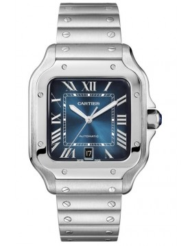 Fake Cartier Santos De Cartier Large Mens Watch WSSA0013