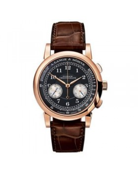 Replica A.Lange & Sohne 1815 Black Dial 40mm Mens Watch